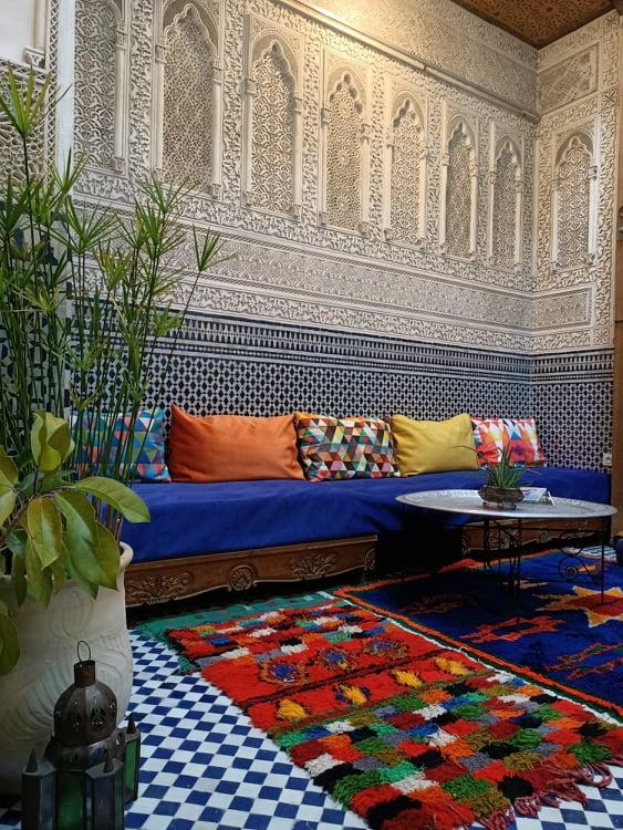 Riad Karim w Fezie, Maroko